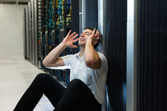 Datacenter bliss Stock Images