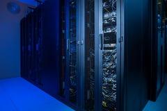 Datacenter internet servers Royalty Free Stock Photos