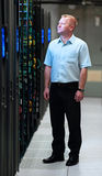 Datacenter manager Stock Image