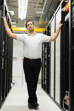 Datacenter manager Royalty Free Stock Photography