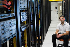 Datacenter manager Royalty Free Stock Image