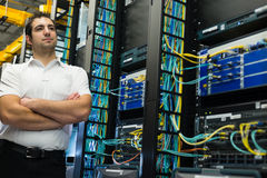 Datacenter manager Stock Images