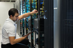 Datacenter manager Stock Photos
