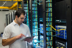 Datacenter manager Royalty Free Stock Images