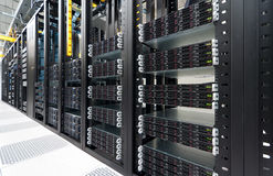 Datacenter moderno Fotografie Stock Libere da Diritti