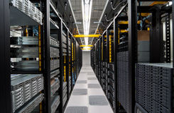Datacenter moderno Immagine Stock