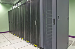 Datacenter Room Royalty Free Stock Photos