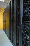Datacenter server racks Royalty Free Stock Photography