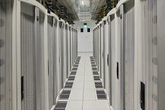 DataCentre przejście Obraz Stock