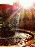 Datación del agua y de Sun Foto de archivo