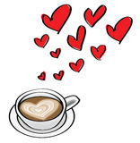 Datando conceitos do dia do Valentim ilustração royalty free