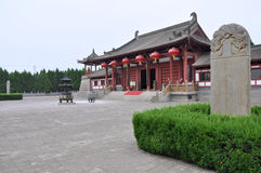 Datang Qinwang Mausoleum Royalty Free Stock Photo