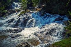 Datanla cascade waterfall Stock Photo