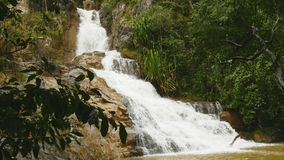 Datanla vattenfall i DaLat, Vietnam 2016 Asien sommar royaltyfria foton
