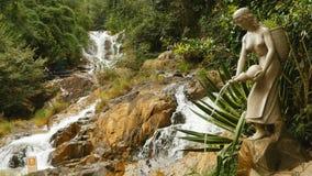 Datanla waterfall in DaLat, Vietnam 2016. Asia Summer.