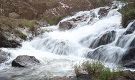 Datanla waterfalls at Dalat, Vietnam. Royalty Free Stock Photos