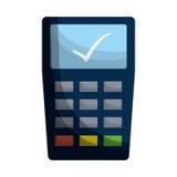 Dataphone economy icon image. Illustration design Royalty Free Stock Photos