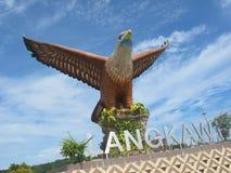 Dataran Lang (τετράγωνο αετών) στοκ εικόνα