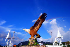 The Dataran Lang (Eagle Square) Royalty Free Stock Photography