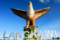 The Dataran Lang (Eagle Square) Stock Photography
