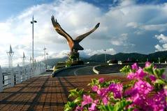 Dataran Lang (Eagle Square) Foto de archivo