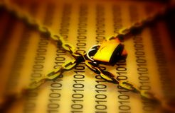 datasäkerhet arkivbild