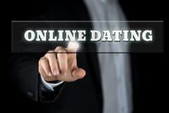 Datation en ligne image stock