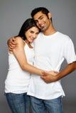 Datation heureuse de couples Images libres de droits