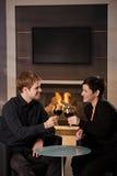 Datation romantique de couples Image stock