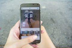 Datazione app Fotografie Stock