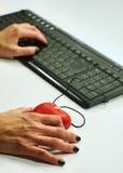 Datazione online Immagini Stock
