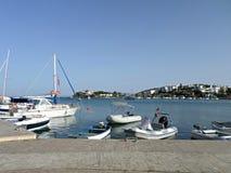 游艇在Datca,土耳其 图库摄影