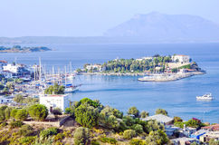 Datca. Town in Aegean cost of Turkey Royalty Free Stock Photography