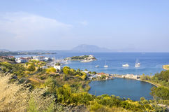 Datca. Town in Aegean cost of Turkey Royalty Free Stock Image