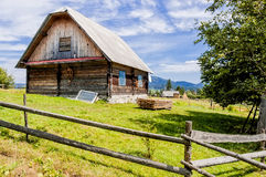 Datcha in Carpathians Royalty Free Stock Image