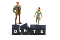 Date Royalty Free Stock Photography