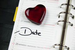 Date Royalty Free Stock Photos