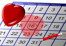 Date Stock Image