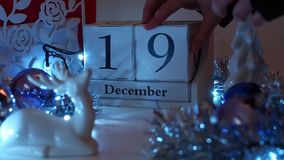 19th December Date Blocks Advent Calendar