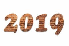 Date civile pour 2019 photos libres de droits