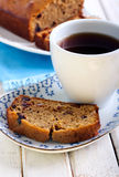Date and coffee cake Stock Photos
