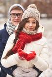 Date d'hiver Photographie stock libre de droits