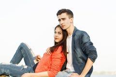Date des adolescents Images stock