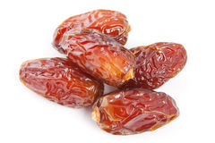 Date fruit isolated on white background. Stock Photography