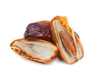 Date fruit. Isolated on white background stock image