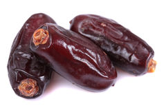 Date fruits close Royalty Free Stock Images