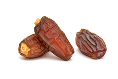Date fruits isolated Stock Image