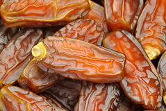 Date fruits macro Stock Photo