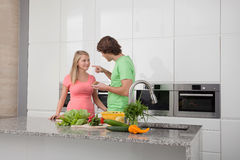 Date in home Stock Photo