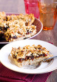 Date oat bars Royalty Free Stock Photo